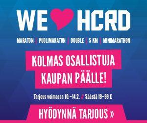 HCRD ystävänpäivätarjous