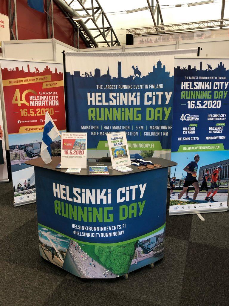 Helsinkki city running day