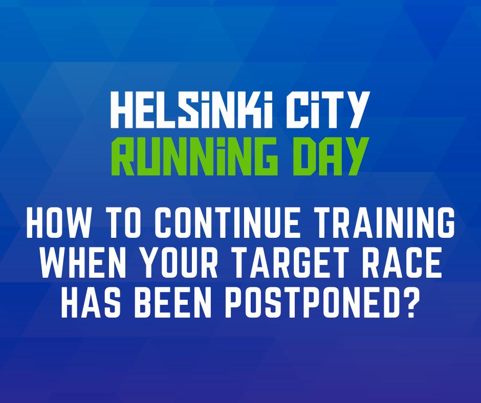 training for postponed race